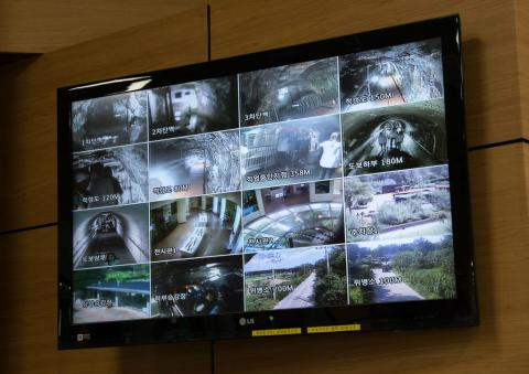 Sistema de videovigilancia entre las dos Coreas