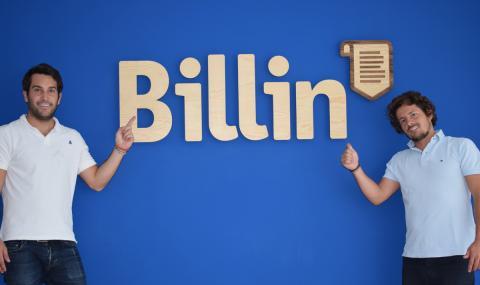 Los creadores de Billin, Marcos de la Cueva y Diego Goya.