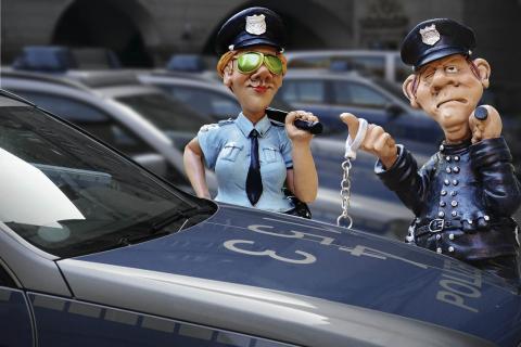 Dibujos de la policía