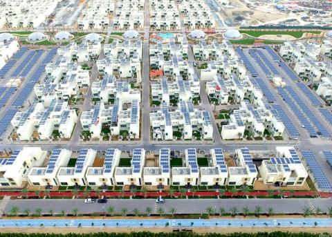 Dubái construye una ciudad sostenible