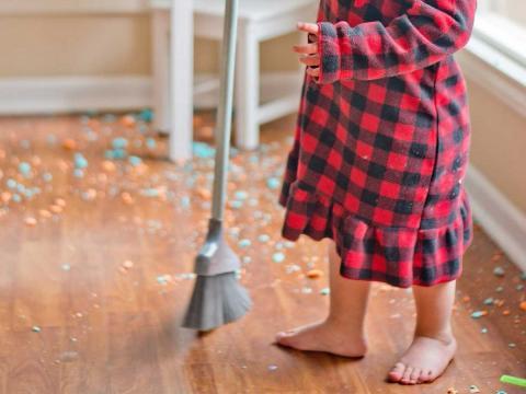 Tareas doméstica para los más pequeños