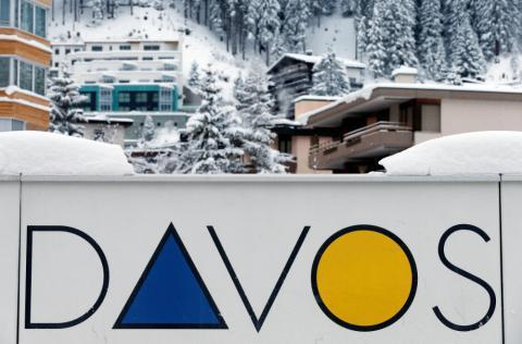 Una imagen del encuentro anual del Foro Económico Mundial en Davos en 2017.
