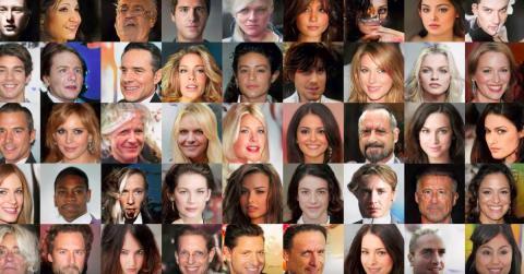 Todas estas caras son falsas: han sido creadas por ordenado a través de inteligencia artificial.