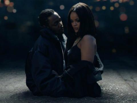 Kendrick Lamar y Rihanna en 'Loyalty'