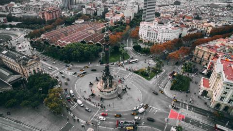 Una imagen de Barcelona.