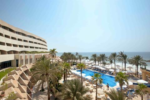 Imagen del hotel Grand Hotel Sharjah abierto por Barceló en Emiratos Árabes Unidos en 2017.