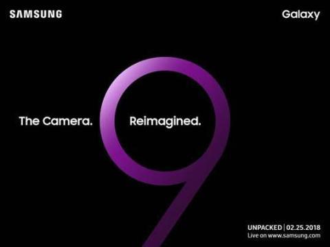 Invitacion Galaxy S9