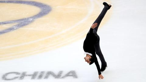 Javier Fernández en Pekín 2017