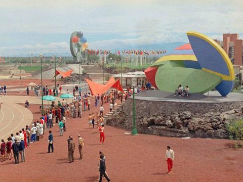 Villa Olímpica de México 1968.