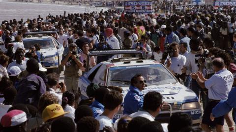 Llegada dakar 1989