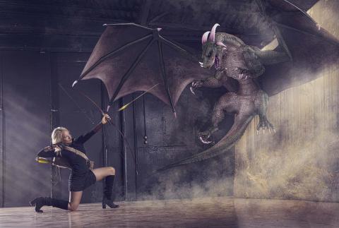 Matando un dragón