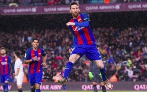 Messi, jugador del FC barcelona