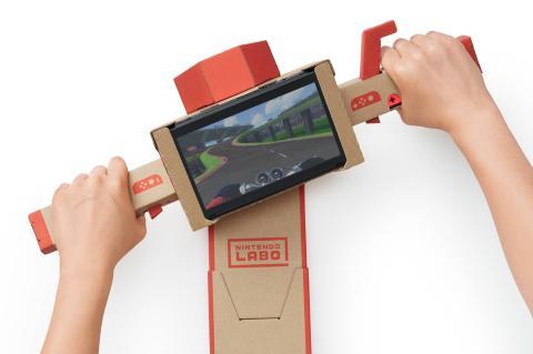 Moto Nintendo Labo