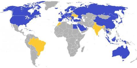 Países en los que Ikea tiene tiendas abiertas