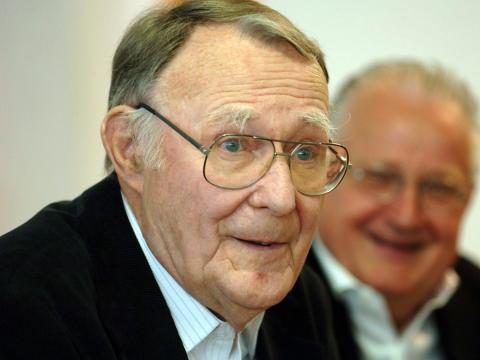 Muere el fundador de Ikea, Ingvar Kamprad
