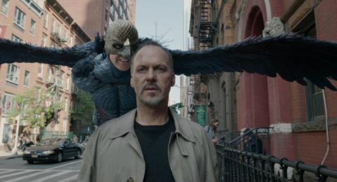 Birdman con Michael Keaton