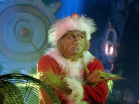 El Grinch con Jim Carrey