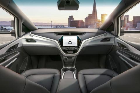 Los vehículos autónomos de General Motors equipados con sus sistema Cruise de nivel 5 carecen de volante.