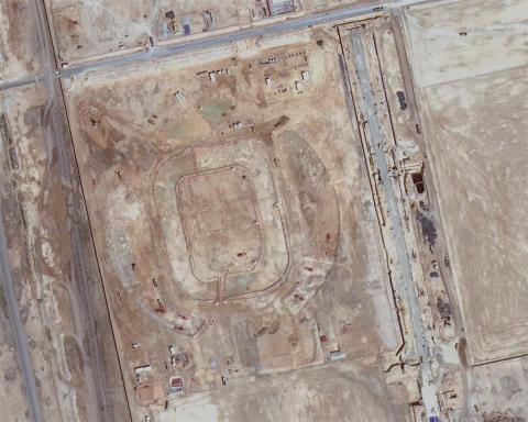 Qatar 2022 estadios parados por bloqueo 2