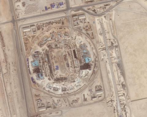 Qatar 2022 estadios parados por bloqueo 6