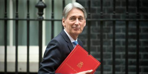 El ministro de Economía de Reino Unido, Philip Hammond
