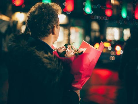 Ramo de flores.