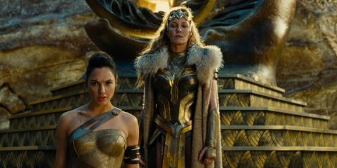 Un fotograma de 'Wonder Woman' con Gal Gadot