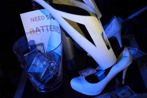 Robots Stripers Las Vegas CES 2018