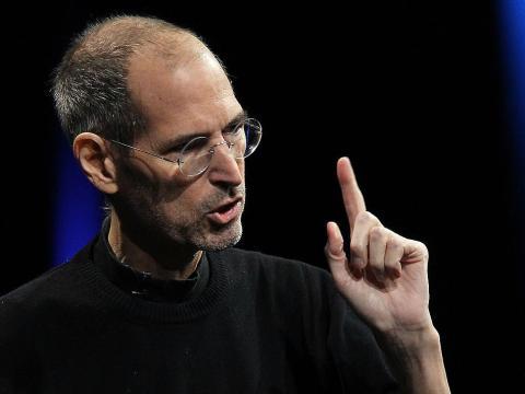 Steve Jobs, en una imagen de archivo durante una presentación