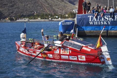 Talisker Whisky Atlantic Challenge barco español