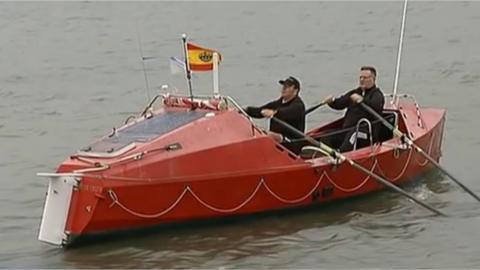 La organización revende los barcos de participantes de otros años, pocos repiten experiencia.