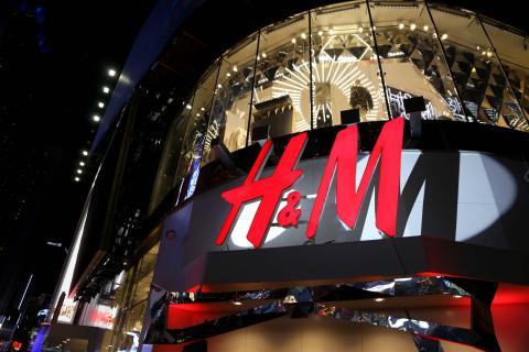 Una tienda H&M en Times Square, en Nueva York.