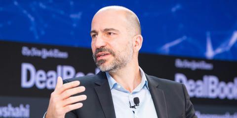 El director ejecutivo de Uber, Dara Khosrowshahi