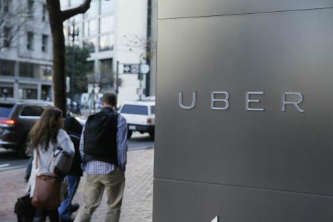 Una imagen de una de las sedes de Uber.
