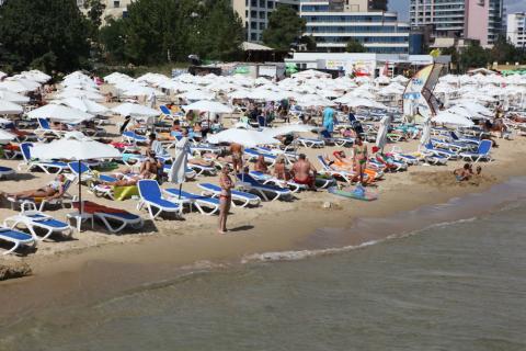 Playa en Bulgaria
