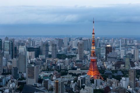 Turismo en Tokio, Japón.