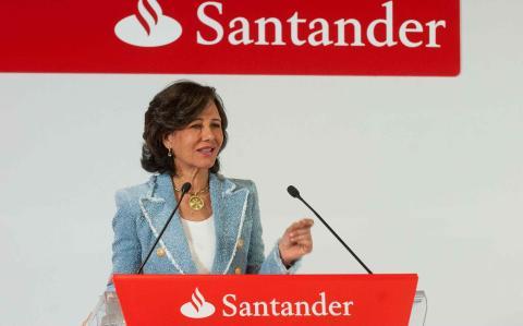 Ana Botín es presidenta de Banco Santander.