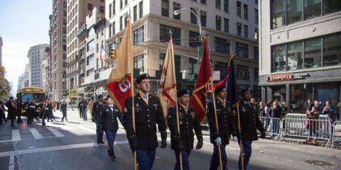 Desfile militar en Estados Unidos