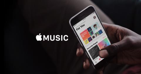 Apple Music en el iPhone