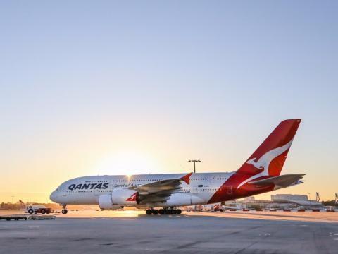 Avion vuelo Qantas