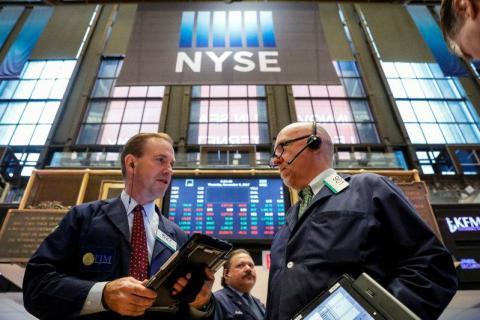 Imagen del mercado de valores de Nueva York
