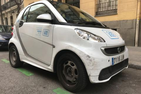 car2go smart desperfectos