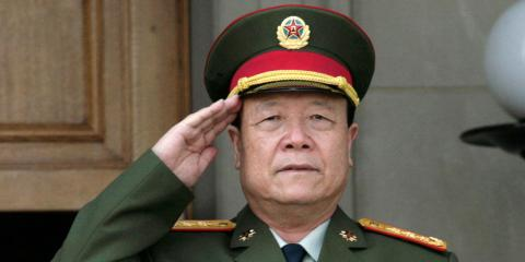 El exvicepresidente de la Comisión Militar Central de China, General Guo Boxiong