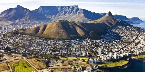 Ciudad del Cabo, en Sudáfrica.