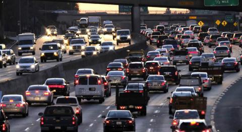 Tráfico en Los Ángeles (EE. UU.)