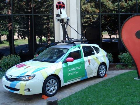Coche de Google Street View.