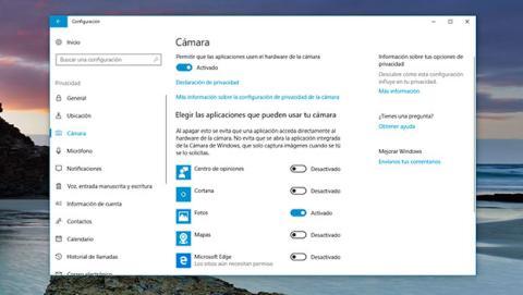 Desactivar Webcam en Windows de manera temporal