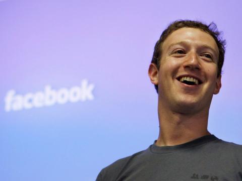 El fundador y consejero delegado de Facebook, Mark Zuckerberg