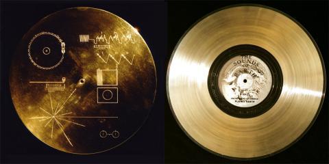 Discos Oro Voyager