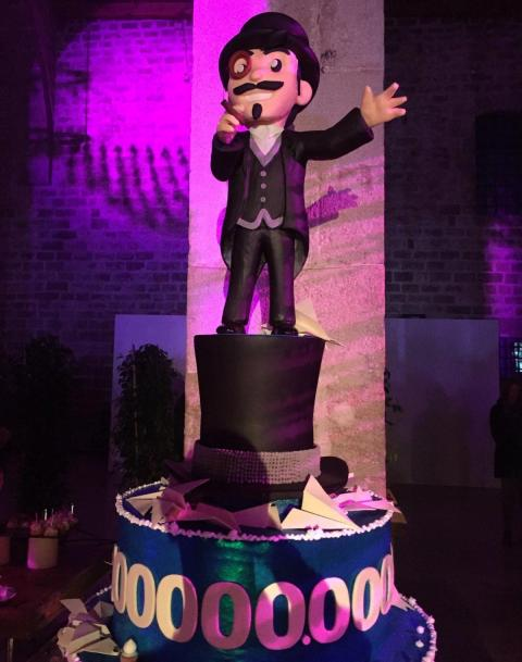 Durov tarta fiesta barcelona